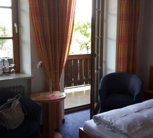 Zimmer mit Balkon Hotel Neuer am See