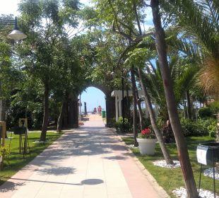 Weg zum Strand Belek Beach Resort Hotel
