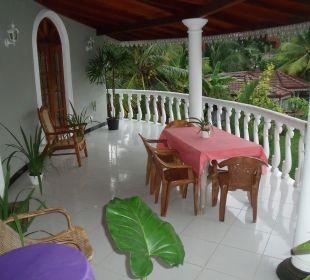 Unser Balkon Bougain Villa