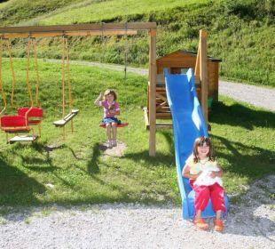 Spielplatz Pension Alpenhof Strenge