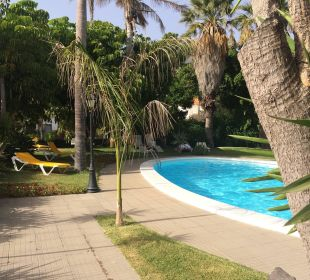 Außenanlage mit Pool Hotel La Palma Jardin