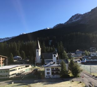 Ausblick Sunstar Alpine Hotel Lenzerheide
