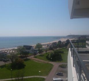 Blick vom Balkon  Carat Golf & Sporthotel Residenz