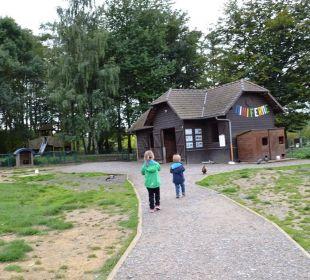 Trostloser Mini-Bauernhof