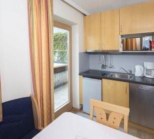 Familienappartement Seenland (50 m2) Küche Angerer Familienappartements Tirol