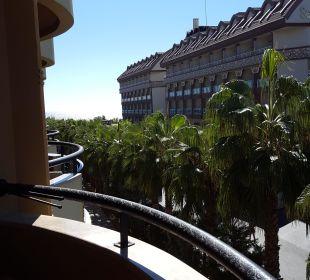 Ausblick Zimmer Balkon zum Meer Hotel Royal Dragon