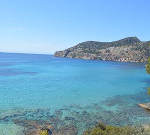 Blick auf die Bucht vor dem Hotel Olimarotel Gran Camp de Mar