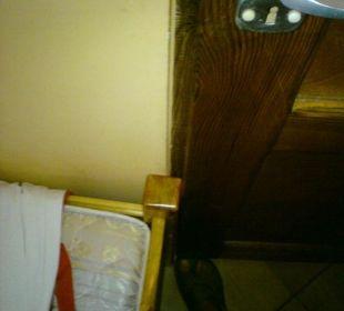 Zimmertür ging nie zu Hotel Zamek Karnity