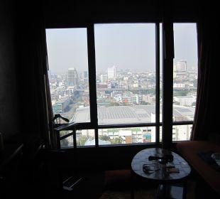 Ausblick vom Zimmer 23. Stock