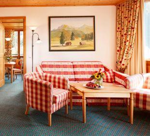 Familiensuite 1 - Wohnzimmer  Hotel Die Post