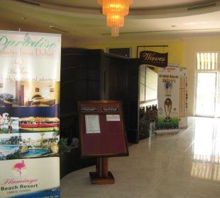 Lobby Hotel Flamingo Beach Resort