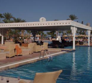 Pool mit Poolbar