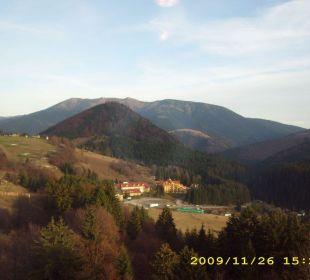 Widok z hotelu Hotel Residence