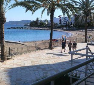 Richtung Playa en Bossa Hotel Ibiza Playa