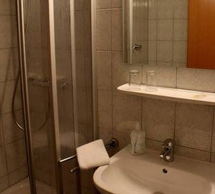 Blick ins Badezimmer Businesshotel Berlin