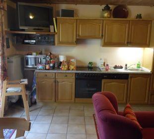 Gemeinschaftsraum mit Küche Ferienwohnung Lettenmaier