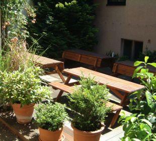 Gartenanlage Hotel Waldhorn Stuttgart