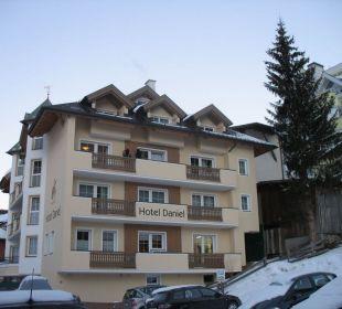 Вид отеля Hotel Garni Daniel