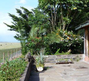 Besuch auf der Terrasse Hotel Lake Nakuru Lodge