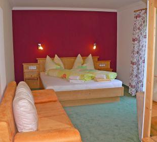Eines unserer neu renovierten Zimmer Pension Bettina