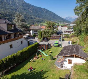 Gartenanlage Pension Villa Agnes