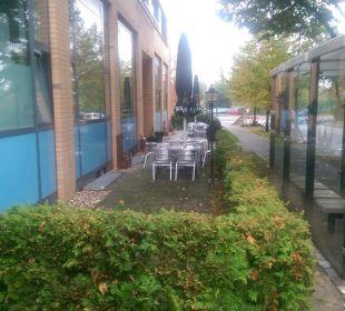 Sitze Außen Comfort Hotel Weißensee