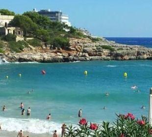 Cala Marsal mit Hotel im Hintergrund JS Hotel Cape Colom