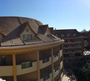 Panorama vom Balkon Hotel Royal Dragon