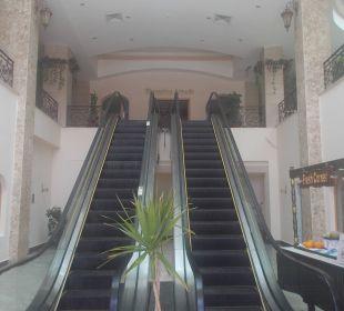 Rolltreppe zur 1 Etage