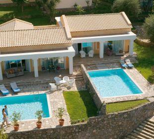 Palazzina Villa mit privaten Pools Hotel Grecotel Eva Palace