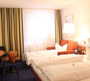 Familienzimmer: 2 Erwachsene und 2 Kinder bis 11 Jahre Best Hotel Mindeltal