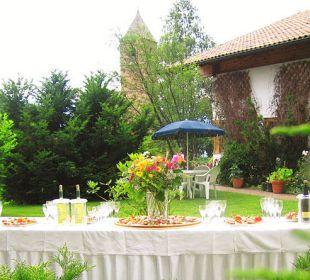 Romantisches Terrassenflair  Hotel Sulfner