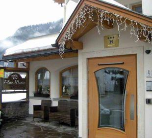 Eingangsbereich Hotel Plan Murin