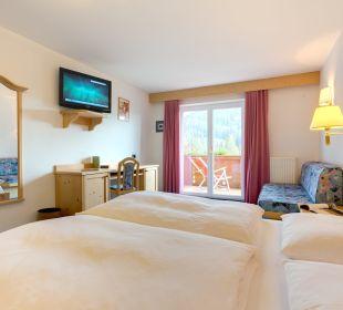 Geräumige Zimmer Piccolo Hotel Obereggen