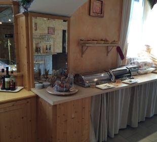 Warme Speisen + Brötchenauswahl Hotel Bavaria Berchtesgaden