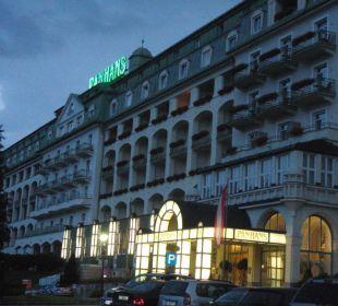 Abendstimmung Hotel Panhans
