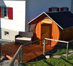 Die neue Fass-Sauna - das besondere Erlebnis! Gasthaus Alpina