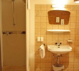 Badezimmer Gasthaus Pension Schön