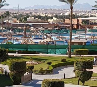 Remont basenu SUNRISE Select Royal Makadi Resort