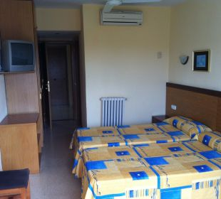Doppelzimmer mit Klima und Ventilator Hotel Palma Playa - Cactus