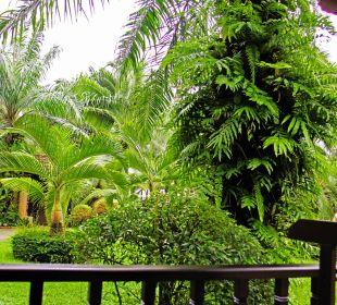 Bungalow 2164 von der Terasse aus Hotel Mukdara Beach Villa & Spa Resort
