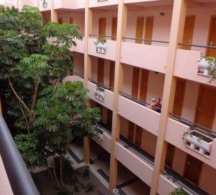 Eingangsbereich zum Zimmer Hotel Mirador Maspalomas Dunas