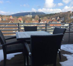 Blick auf den Wurmberg im März 2016 Stadt Chalet