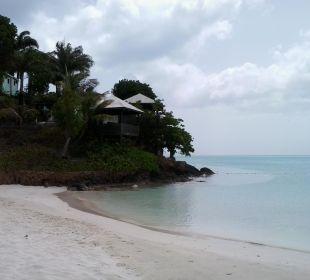 Strand mit Blick aufs Hotel Cocos Hotel