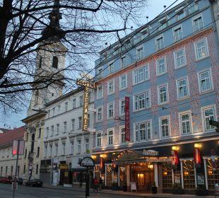 Hotel Stefanie von Außen  Hotel Stefanie