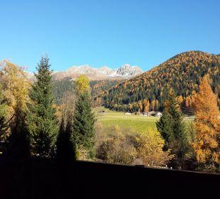Ausblick vom Balkon Hotel Quelle Nature Spa Resort