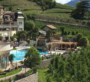 Aussicht vom Spa Tower Luxury DolceVita Resort Preidlhof
