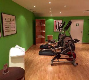 Fitnessbereich Quellness Golf Resort - Das Ludwig