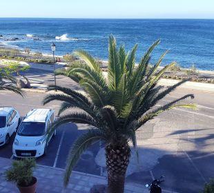Blick nach links Richtung Süden vom Balkon Hotel Gran Rey