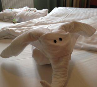 Handtuchelefant Kinderhotel SEMI